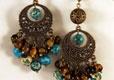 Серьги <p>Дизайнерские серьги с натуральными камнями. Все представленные украшения - ручная работа дизайнеров.</p>