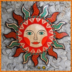 Солнце в славянском стиле