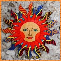 Солнце Средневековое - настенный амулет