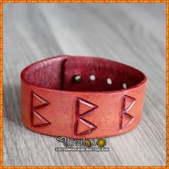 Рунический браслет для девочки