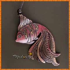 Амулет Золотая рыбка