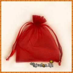 Мешочек для подарков красный