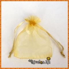 Мешочек для подарков желтый