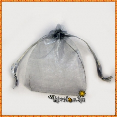Мешочек для подарков серый