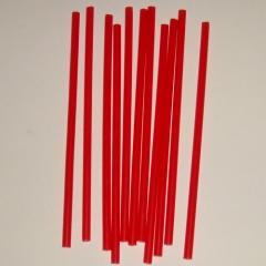 Свеча тонкая красная 10 шт