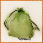 Мешочек для подарков зеленый