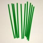 Свеча тонкая зеленая 10 шт